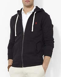 Polo Ralph Lauren Classic Full Zip Fleece Hoodie Polo Black