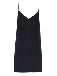 Raey Deep V Silk Slip Dress