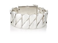 Tom Wood Women's Sterling Silver Id Bracelet Silver