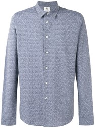 Paul Smith Ps By Allover Dices Print Shirt Grey