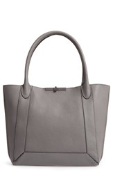 Botkier Perry Leather Tote Grey Slate