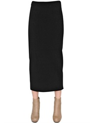 Gentryportofino Wool Knit Skirt