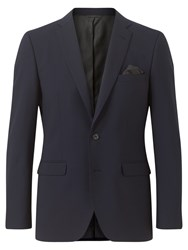 Jigsaw Stretch 2 Button Jacket Navy