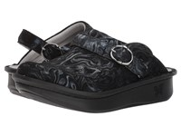 Alegria Seville Professional Slickery Clog Shoes Black