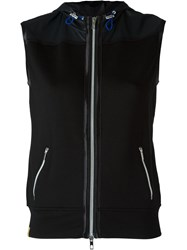 Monreal London 'Hooded' Gilet Black