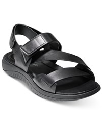 Cole Haan Men's 2.Zerogrand Strap Sandals Men's Shoes Black Black