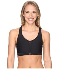 Champion The Zip Bra Black Women's Bra