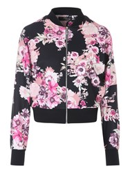 Jane Norman Bomber Jacket Multi Bright
