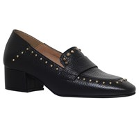 Kg By Kurt Geiger Keekee Block Heeled Loafers Black