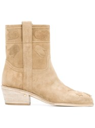Laurence Dacade Ankle Length Boots Nude Neutrals