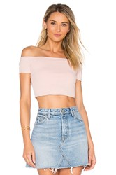 Privacy Please X Revolve Macy Crop Top Pink