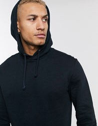 Only And Sons Hoodie With Organic Cotton In Black