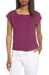 Eileen Fisher Women's Hemp And Organic Cotton Knit Crop Top