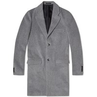 Tomorrowland Wool Chester Coat Mid Grey