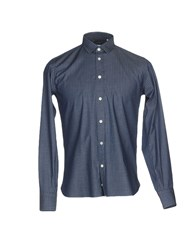 Brio Shirts Dark Blue