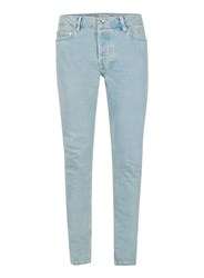 Topman Light Wash Blue Stretch Skinny Jeans