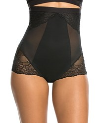 Spanx Spotlight On Lace High Waisted Brief 10121R Very Black