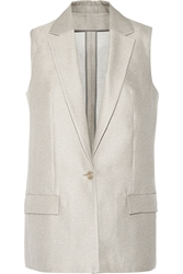 Acne Studios Roana Cotton And Silk Blend Vest