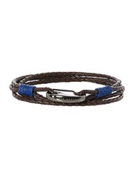 Ted Baker Triple Wrap Core Bracelet Chocolate