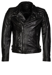 Gipsy Malcolm Leather Jacket Schwarz Black