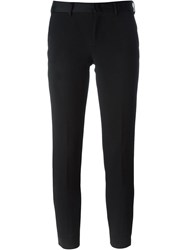Pt01 Slim Chino Trousers Black