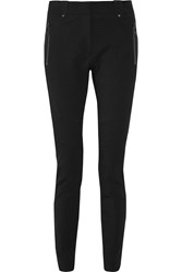 Belstaff Paley Stretch Twill Skinny Pants Black