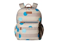 Vera Bradley Lighten Up Grande Laptop Backpack Havana Cool Spots Backpack Bags Multi