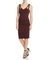Velvet By Graham And Spencer Tank Dress Vino Red