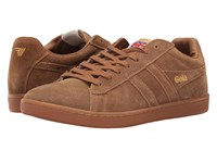 Gola Equipe Suede Tobacco Tobacco Gum Men's Shoes Brown