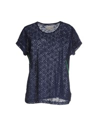 Bella Jones Topwear T Shirts Women Dark Blue