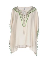 Care Of You Shirts Kaftans Women Beige