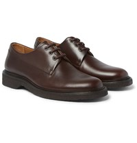 A.P.C. Leather Derby Shoes Brown