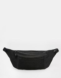 Asos Mesh Bum Bag Black
