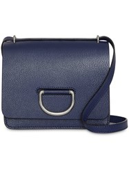 Burberry The Small Leather D Ring Bag Blue