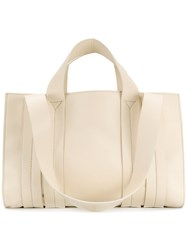 Corto Moltedo Costanza M Tote Nappa Leather White