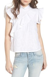 Mcguire Sorbonne Top White Eyelet