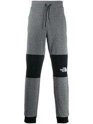 The North Face Contrast Panelled Track Pants Grey