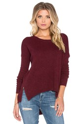 Charli Azra Sweater Burgundy