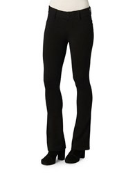 Democracy Solid Bootcut Pants Black
