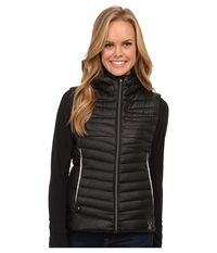 Spyder Timeless Down Vest Black Silver Women's Vest