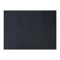 Chilewich Current Rectangle Placemat Blue