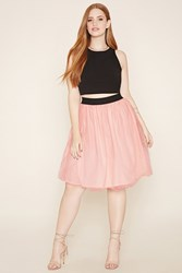 Forever 21 Plus Size Tulle A Line Skirt