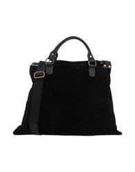 Studio Moda Handbags Black