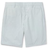 Paul Smith Slim Fit Cotton Shorts Blue