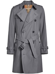 Burberry The Chelsea Heritage Trench Coat Grey