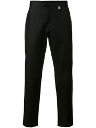 Christopher Kane Refelective Detail Trousers Black