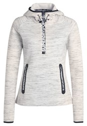 Superdry Hoodie Neon Nep Light Grey