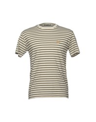 M.Grifoni Denim T Shirts Ivory