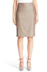 Max Mara Women's Wool Blend Pencil Skirt