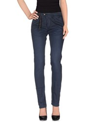 Jfour Trousers Casual Trousers Women Dark Blue